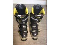 Mens Salomon Quest 120 ski boots size 29/29.5