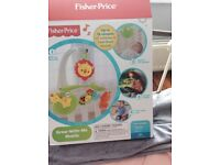 Fisher price grow with me cot mobile new