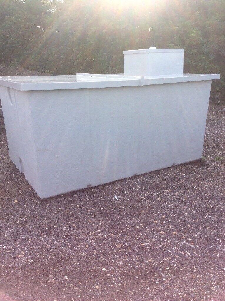 5,000lt Fresh water tank ideal fish tank or septic tank