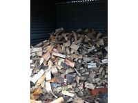 seasoned logs firewood
