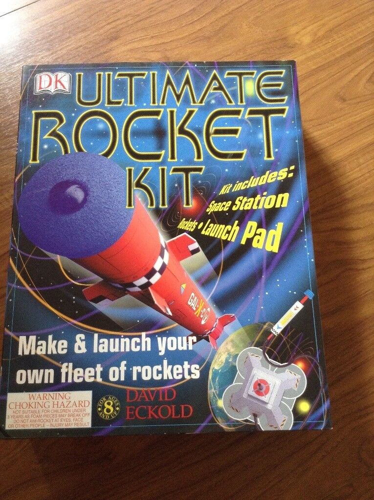 DK Ultimate Rocket Kit (new and unopened) SOLD