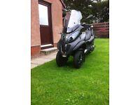 Piaggio MP3 LT 500 i.e. Sport Touring in Matt Black
