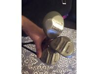 Arnold palmer driver, 3 wood & 5 wood