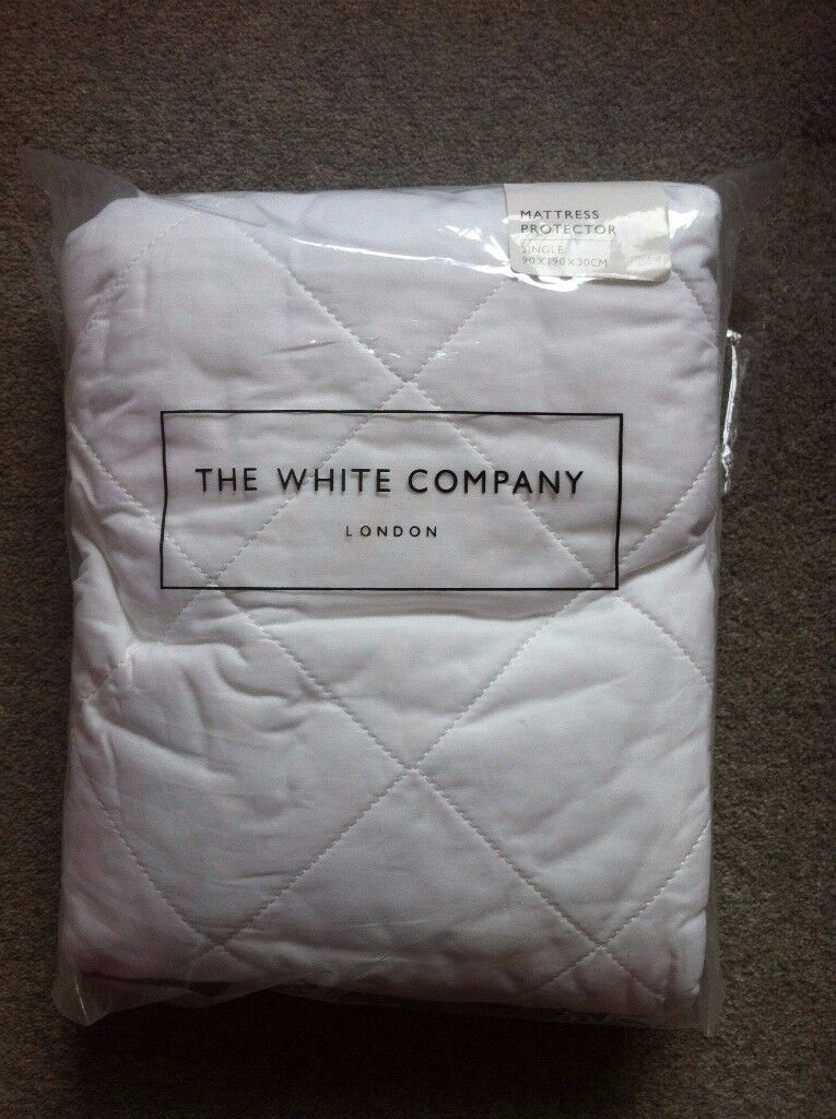 Brand New & Sealed - White Company Cotton Quilted Mattress Protector