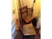 Church chapel chairs