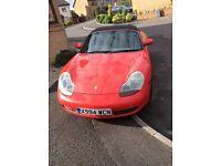 Porsche boxter 2.7 guards red