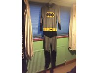 Batman onesie. Medium.