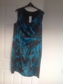 Alexon ultimate teal occasion dress size 20