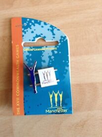 A 1982 Manchester Commonwealth Games Official Merchandise Pin Badge