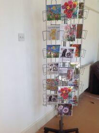 72 Pocket Rotating Greetings Card Spinner Display Stand