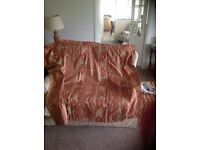 "CURTAINS THERMAL LINED -Aztec print 68""W x 54""D. Good used condition."