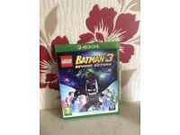 Xbox one batman 3 game
