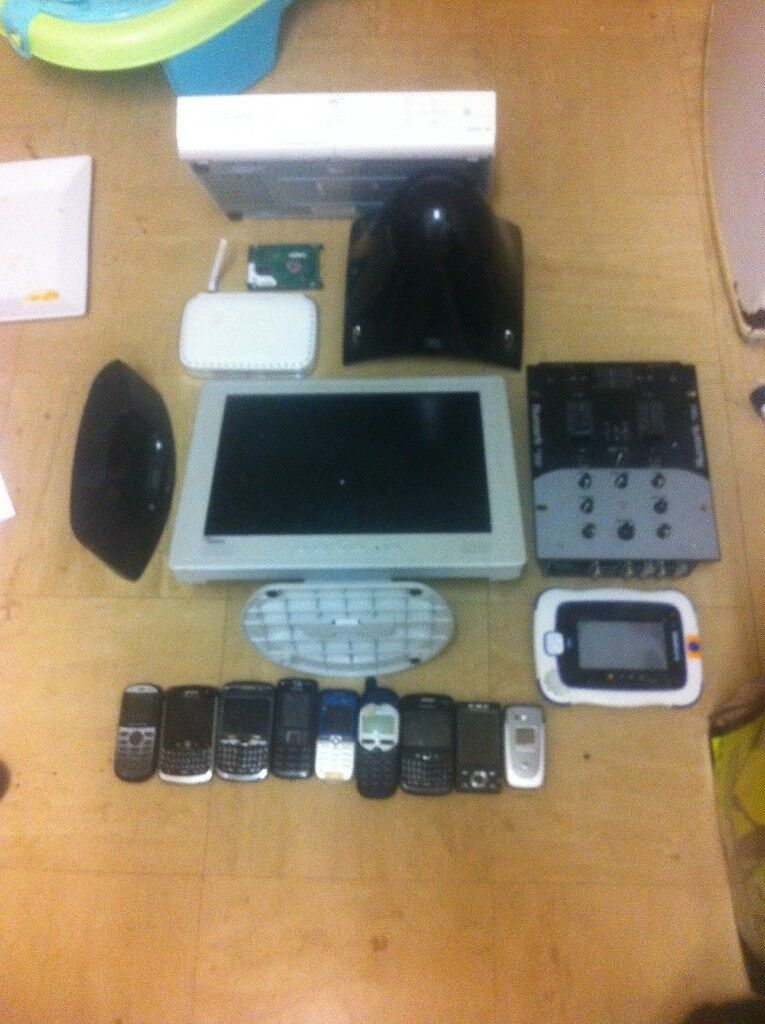 Joblot of untested electrical items