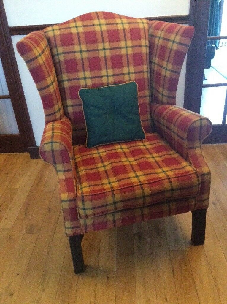 Winged armchairs - two matching!   in Hamilton, South ...