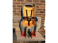 Topeak BabySeat II Child Bike Seat with Aluminum Rack (Disc Mount Version) - in great condition