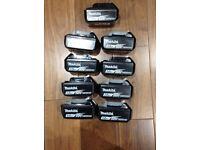 3ah Mikita lithium batteries original makita