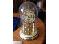 GOOD CONDITION LITTLE 1960 400 DAY GERMAN KUNDO CLOCK