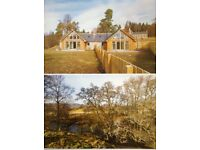 Two Fully Refurbished and Extended Cottages in the HEART OF GLENESK, EDZELL