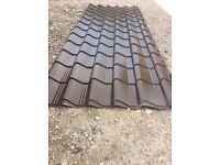 Pan tile metal roofing sheets