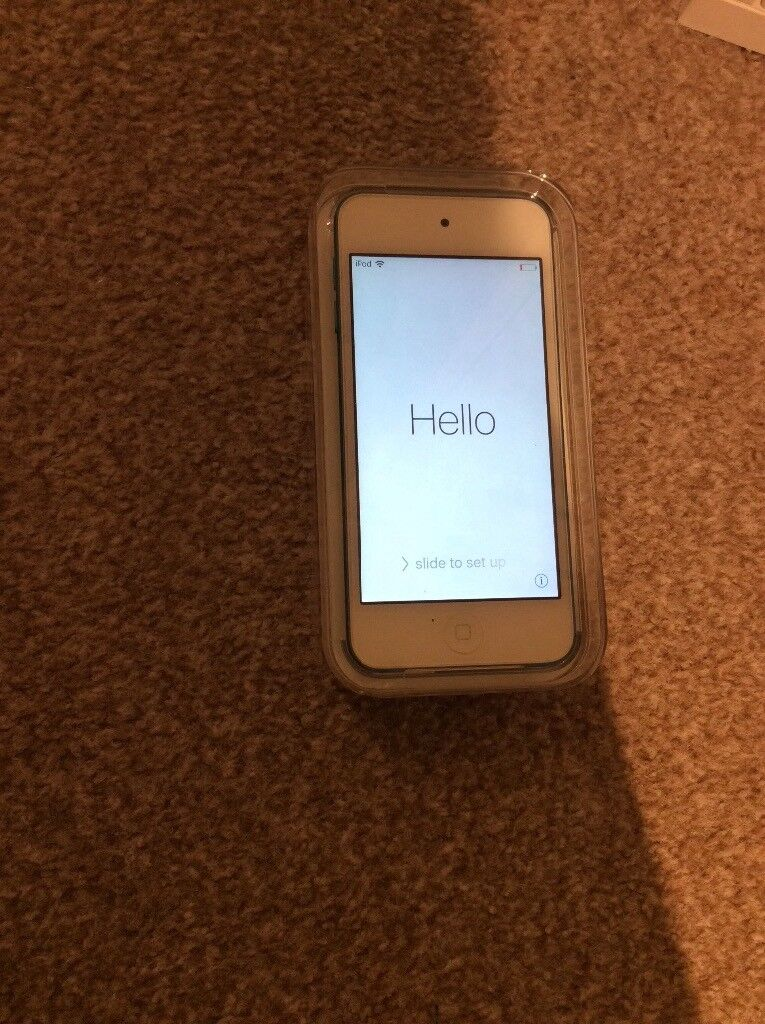 34GB Blue iPod touch 5th generation