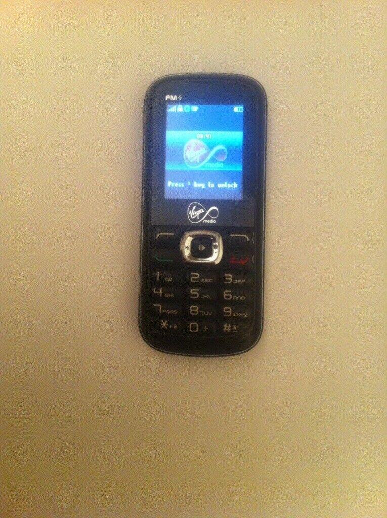 Alcatel Vm-560 mobile phone in fully working order on (virgin)