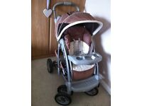 Graco Quattro Pushchair/Stroller/Buggy