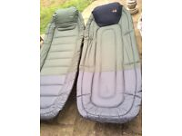 For sale 2 bed chairs tracker / total fishing gear