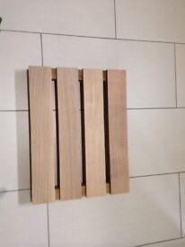Solid Oak Bathroom Duckboards
