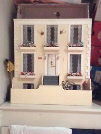 unique vintage collectable dolls house