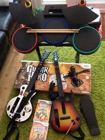 Wii Guitar Hero World Tour