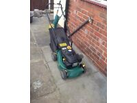 Petrol mower excellent condition