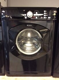 Hotpoint 7kg 1400spin Washing Machine in Black with Warranty