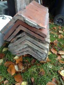 Old ridge tiles