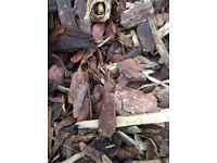 Top soil, compost, tree bark