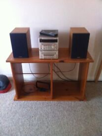 TEAC HI FI SYSTEM / , CD / TUNER / CASSETTE DECK / SPEAKERS / REMOTE , MANUALS