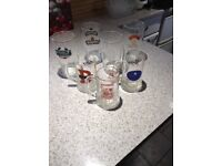 Collectable glasses including 3 beer festival ones