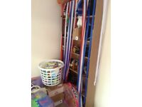 Wooden ikea bookshelves £50 for 2