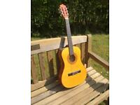 ACOUSTIC GUITAR - Three-quarter size.