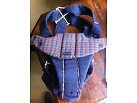 Blue Baby Bjorn Baby Carrier