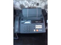 brother FAX-920 Plain Paper Fax Machine in full working order.