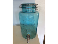 KILNER ORIGINAL DRINKS DISPENSER WITH TAP ( 5 LITRE )