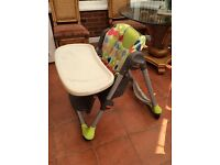 Chico High Chair for Kids in Excellent Condition.