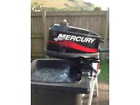 Mercury 4hp boat engine
