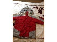 Waterproof, lined winter jacket