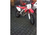 Honda 250crfx 2009, With V5 but on sorn, Would need Mot for road use.