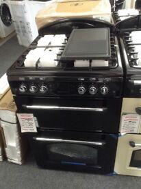Leisure classic double oven. Black. £349 RRP £549 new/graded 12 month Gtee