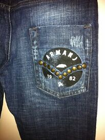 Boys Genuine Armani Jeansn