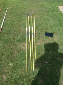 Apollo Aeroflo Javelin 700g Yellow Adult Size (4 Available)