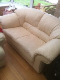 Pair of 2 seater sofas gd condition