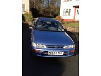 Toyota Corolla very clean for sale